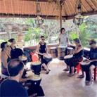 Bali drumming retreat