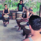 Bali drumming
