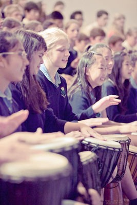 school drumming
