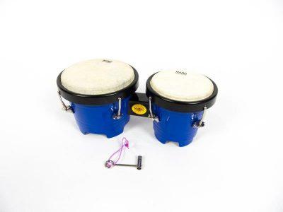 kids bongos, blue