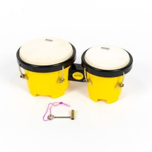 kids bongos, yellow