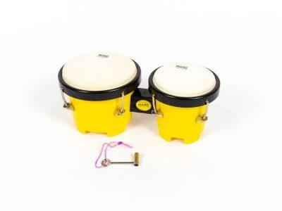 kids bongos, yellow