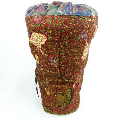 Direct from Ghana and bursting with colour, these padded cloth bags are durable and unique.