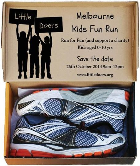 For the calendar: The Melbourne Kids Fun Run in October