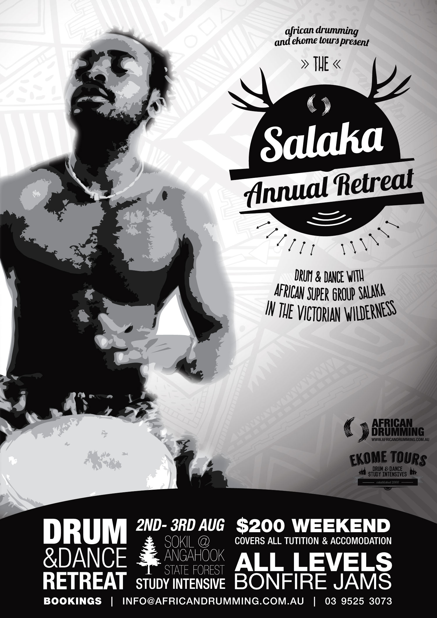 The Annual Salaka Retreat is coming up soon! Join us in August