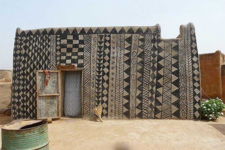 The Mud Brick Houses of Burkina Faso!