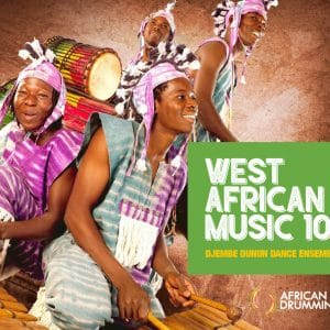 West African drumming booklet - full of educational resources