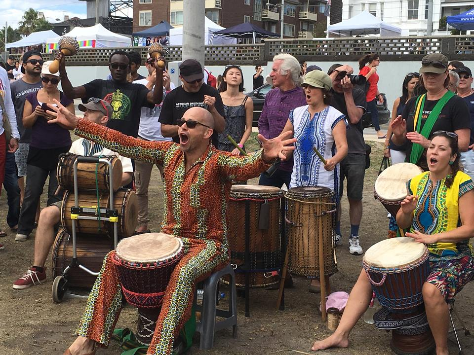 Teacher Training @African Drumming