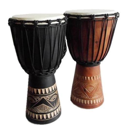 kid djembes, these drums are perfect for children and available in light or dark colours