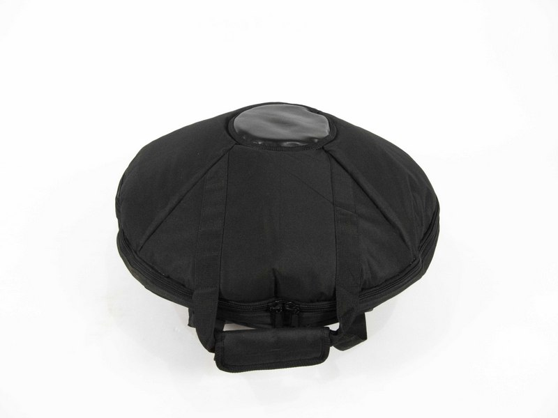Quality sturdy black handpan drum bag with handles