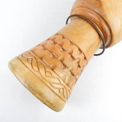 Ghanaian djembe shell