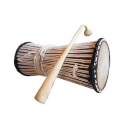 Wolof tama talking drum from Senegal