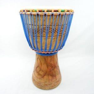 Hand carved Ghana djembe