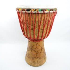 Hand carved Ghana djembe - African Drumming
