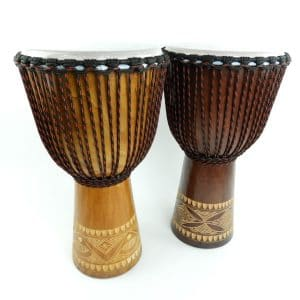 Classic Plus Vegan Djembe. Great entry level drum from Indonesia for African Drumming