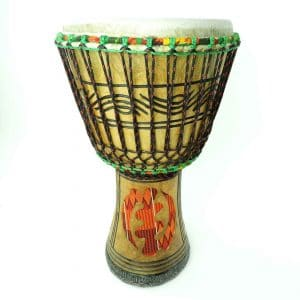 Ghana Series Djembe, hand carved in Ghana for African Drumming