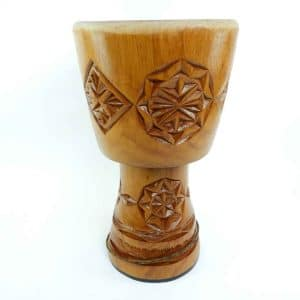 Master Series Djembe Shell, hand carved in West Africa for African Drumming
