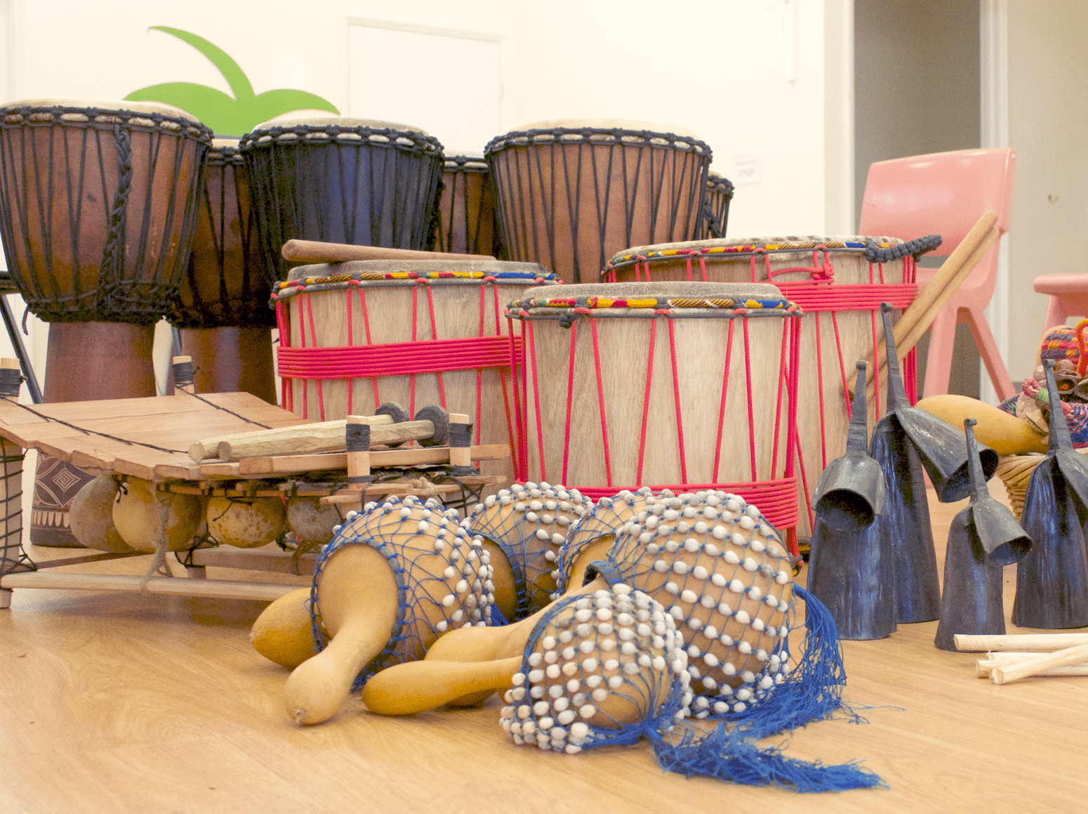 professional development, online classes, african drumming