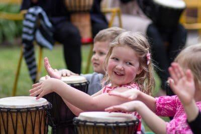 kids drum class, drumming, online class
