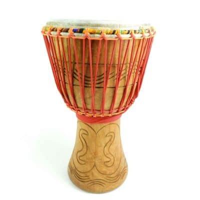 ghana djembe hand carved