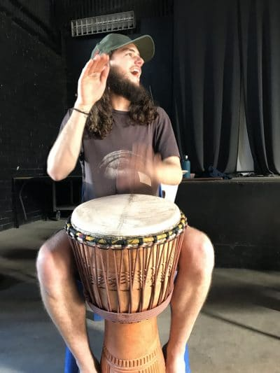 Interactive djembe classes for beginner and intermediate level students. Join us for drumming workshops in St Kilda every Monday evening.