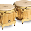 Ideal for musicians looking for traditional styling and professional-quality sound at an affordable price. These Wood Bongos feature Siam Oak shells, rawhide heads and traditional rims. Available in almond and gold.