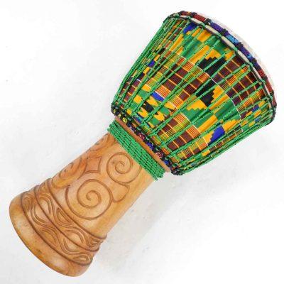 ghana djembe kente wrap