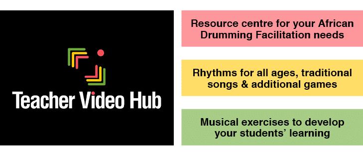 teachers video hub, resources and rhythms for facilitators